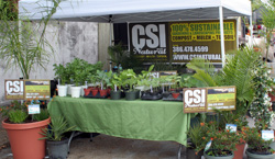 Photo of the CSI Natural Booth#25 at Edgewater Business Expo.
