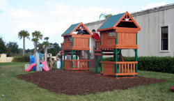 Photo of Playground Installation at the Methodist Church after-school program located in Venetian Bay within New Smyrna Beach, FL