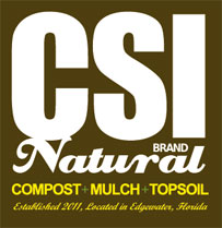 CSI Natural Compost Mulch & Topsoil Logo